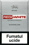 Red&White Super Slims Shine